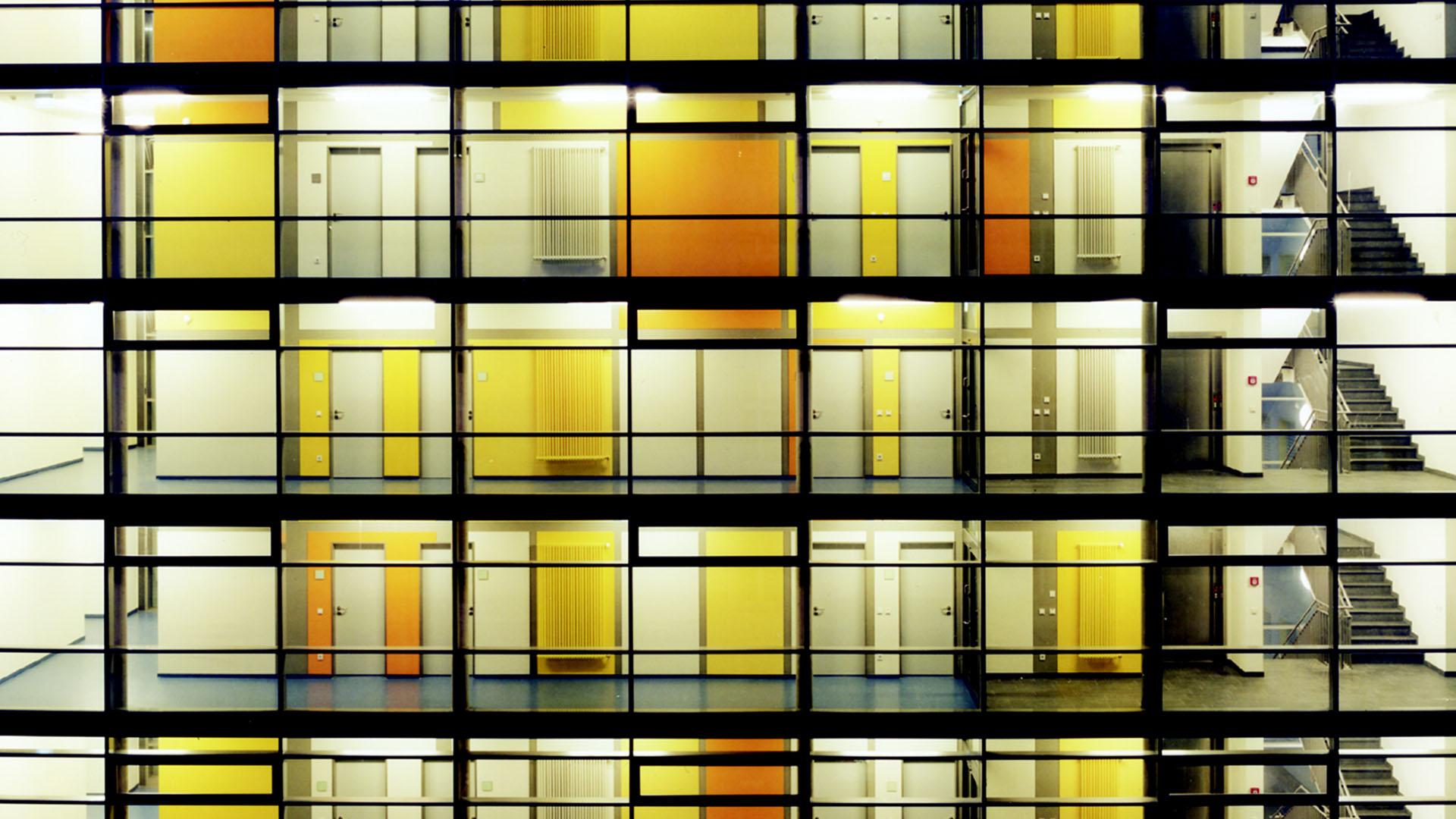 Transformation Licht Polizeipräsidiumium Essen, mit Frank Ahlbrecht 2006